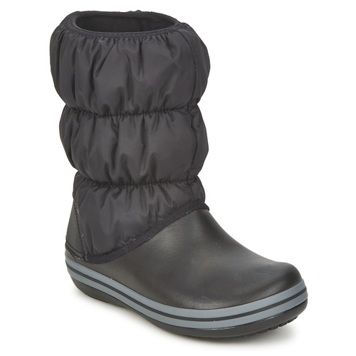 Shoes Women Snow boots Crocs WINTER PUFF BOOT  black / Charcoal