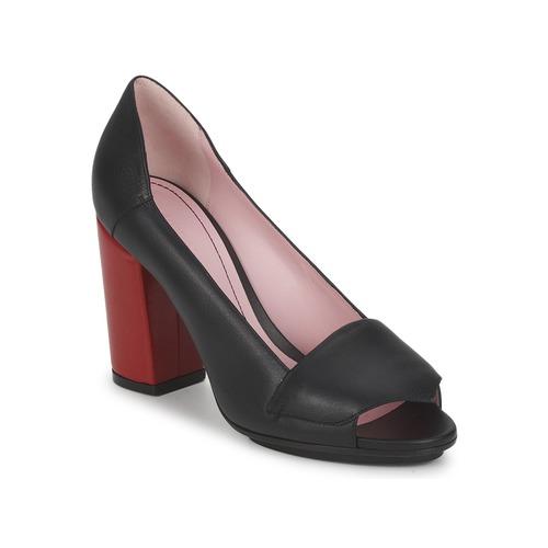 Shoes Women Heels Sonia Rykiel 657940 Black / Red