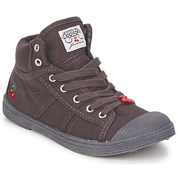 Shoes Children Hi top trainers Le Temps des Cerises BASIC-03 KIDS Grey