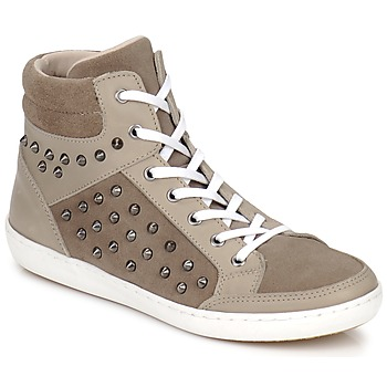 Shoes Women Hi top trainers Yurban ALTOUVE TAUPE