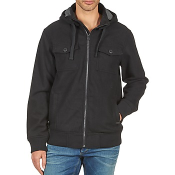 Clothing Men Jackets Nixon CAPTAIN JACKET III Black