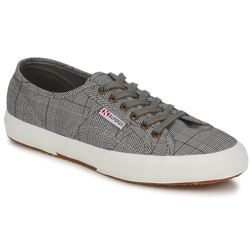 Shoes Men Low top trainers Superga 2750 Grey / White