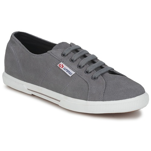 Shoes Low top trainers Superga 2950 Grey