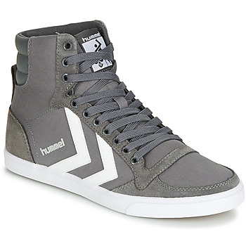 Shoes Hi top trainers Hummel TEN STAR HIGH Castle / Rock / White