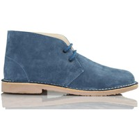 Shoes Hi top trainers Arantxa AR pisacacas safari leather boot BLUE
