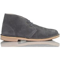 Shoes Hi top trainers Arantxa AR pisacacas safari leather boot GREY