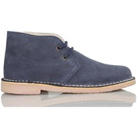 Shoes Hi top trainers Arantxa AR pisacacas safari leather boot MARINE