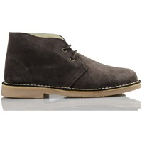Shoes Hi top trainers Arantxa AR pisacacas safari leather boot BROWN