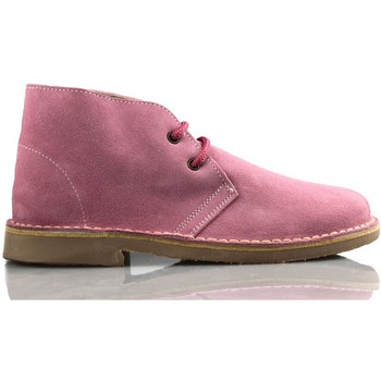 Shoes Hi top trainers Arantxa AR pisacacas safari leather boot PINK