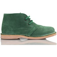 Shoes Hi top trainers Arantxa ARANCHA pisacacas safari unisex leather boot GREEN