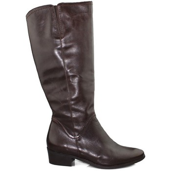 Shoes Women High boots Kroc SAVANA TESTA BROWN