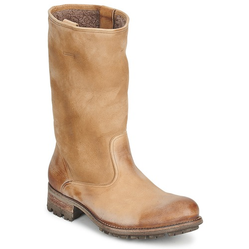 Shoes Women High boots n.d.c. VALLEE BLANCHE KUDUWAXOIL/DFA Brown