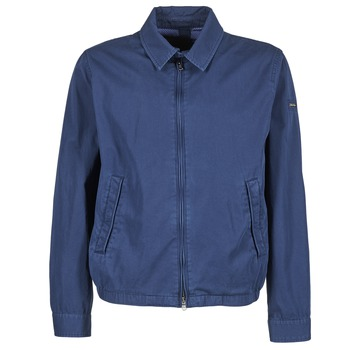 Clothing Men Jackets Hackett CLASSIC BLOUSON Marine