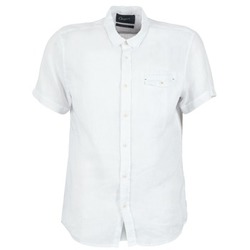Clothing Men short-sleeved shirts Chevignon C-LINEN White