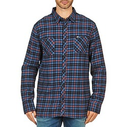 Clothing Men Long-sleeved shirts Rip Curl OBSESSED CHECK FLANNEL L/S SHIRT Blue