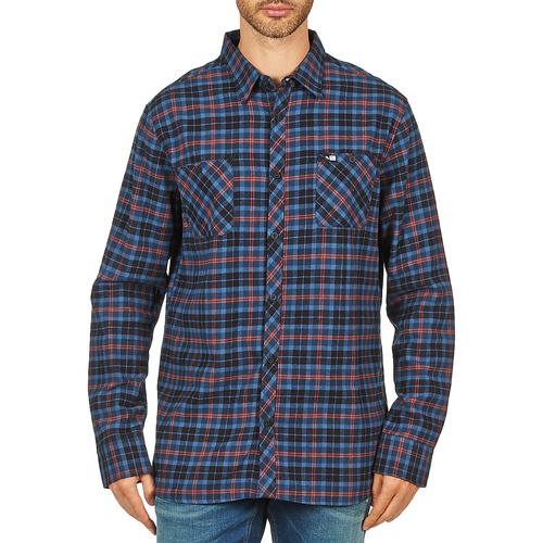Blue Rip Shirt s Flannel Curl Obsessed Check L n7qSZvw