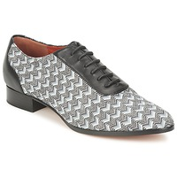 Shoes Women Brogues Missoni WM076 Black / Grey