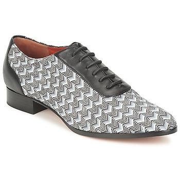Shoes Women Brogues Missoni WM076 Black / Grey