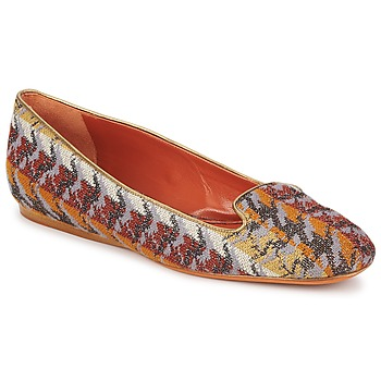 Shoes Women Loafers Missoni WM004 Multicolour