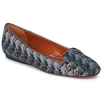 Shoes Women Loafers Missoni WM004 Blue