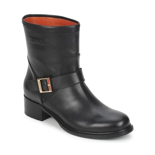 Shoes Women Mid boots Missoni WM028 Black