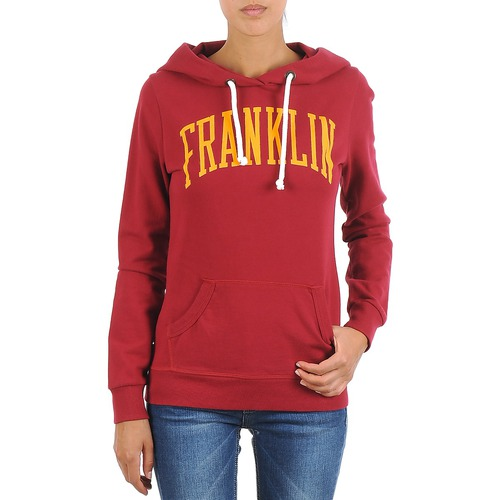 Clothing Women sweatpants Franklin & Marshall TOWNSEND Red