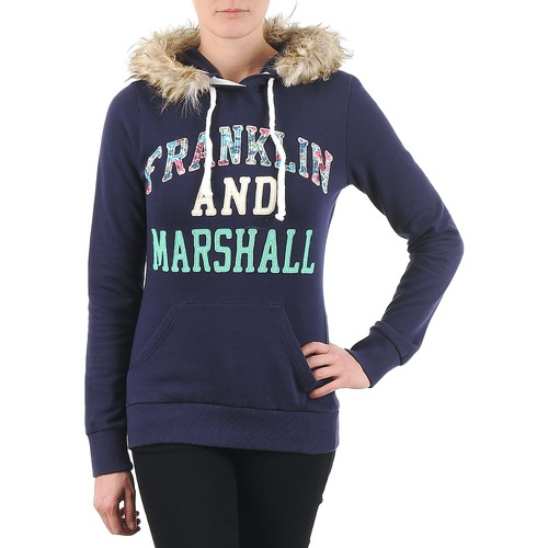Clothing Women sweaters Franklin & Marshall COWICHAN Marine