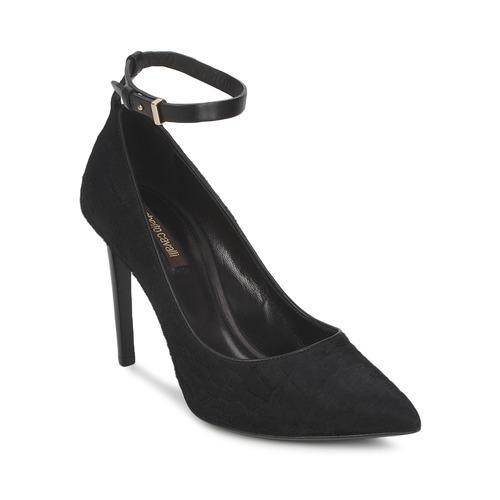 Shoes Women Heels Roberto Cavalli WDS232 Black