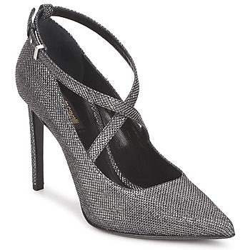 Shoes Women Heels Roberto Cavalli WDS234 Grey