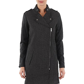 Clothing Women coats Yas MIND WOOL BICKER JACKET Grey
