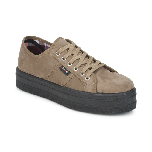 Shoes Women Low top trainers Victoria 9205 Taupe
