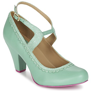 Shoes Women Heels Cristofoli MIDINI Blue green