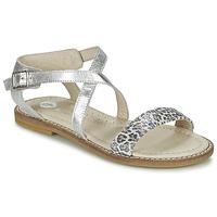 Shoes Girl Sandals Garvalin COSMOS Silver