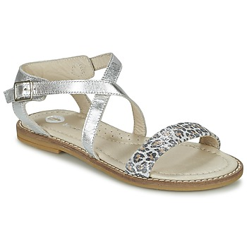 Shoes Girl Sandals Garvalin COSMOS Silver