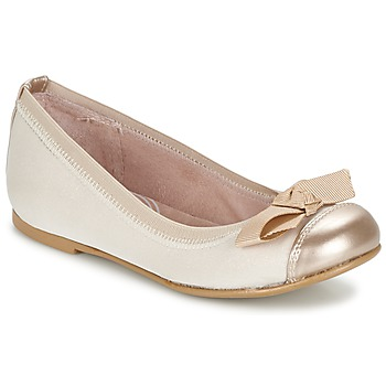 Shoes Girl Flat shoes Garvalin MAT BEIGE