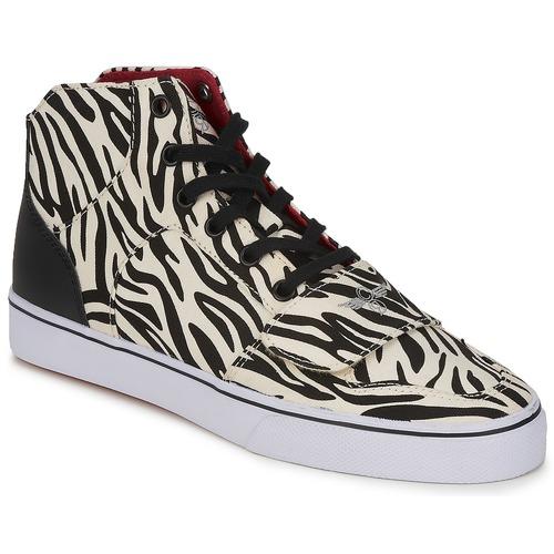 Shoes Women Hi top trainers Creative Recreation W CESARIO XVI M Zebra