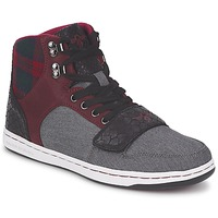 Shoes Men Hi top trainers Creative Recreation W CESARIO Grey / Brown