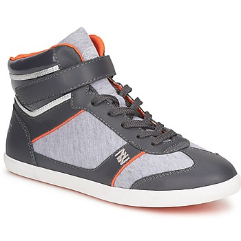 Shoes Women Hi top trainers Dorotennis MONTANTE LACETS VELCRO ANTHRACITE