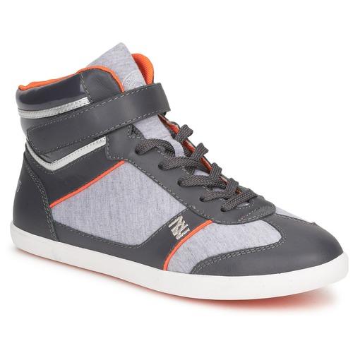 Shoes Women Hi top trainers Dorotennis MONTANTE LACETS VELCRO Anthracite