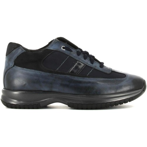 Shoes Men Low top trainers Rogers 2256 Shoes with laces Man Blue Blue