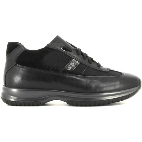 Shoes Men Low top trainers Rogers 2256 Sneakers Man Black Black
