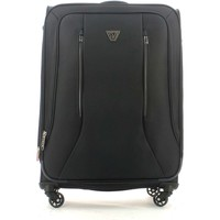 Bags Soft Suitcases Roncato 414072 Medium trolley 4 wheels Luggage Black Black