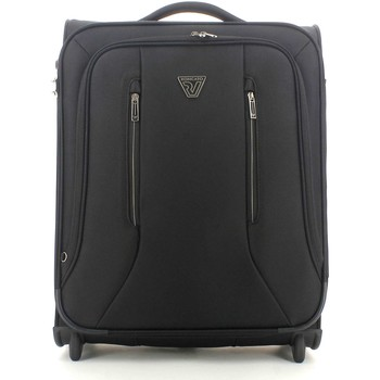 Bags Men Soft Suitcases Roncato 414053 Trolley Luggage Black Black