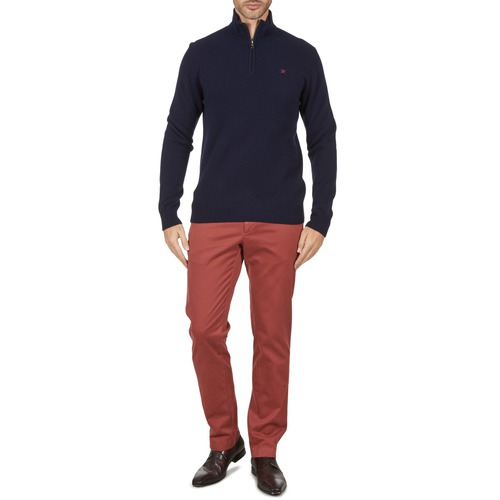 Clothing Men chinos Hackett STRETCH TWILL CHINO Pink