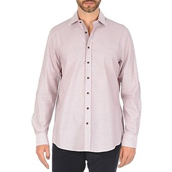 Clothing Men Long-sleeved shirts Hackett MULTI MINI GRID CHECK Multicolour