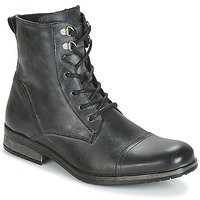 Shoes Men Mid boots Casual Attitude RIBELLE Black