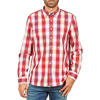 Clothing Men long-sleeved shirts Gaastra ECHO SOUNDING Red