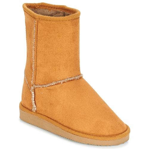 Shoes Children High boots Citrouille et Compagnie ZOONO Orange