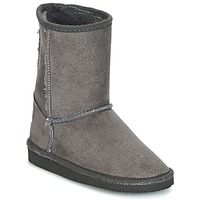 Shoes Children High boots Citrouille et Compagnie ZOONO Grey
