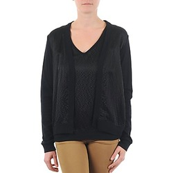 Clothing Women Jackets / Cardigans Majestic 238 Black